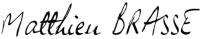 Matthieu Brasse Signature2