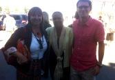Avec Christiane Taubira et Florence