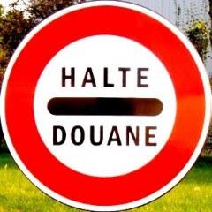 Halte Douane